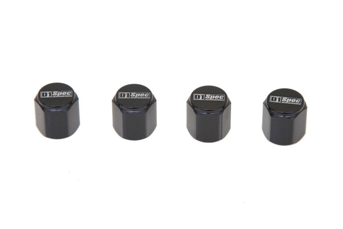 Zakrętki wentyli D1Spec D1S035 Black - GRUBYGARAGE - Sklep Tuningowy